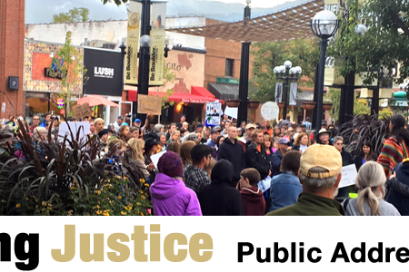Embodying Justice: 2018 Public Address Conference